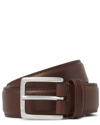 Andersons 3cm brown leather belt medium 578122