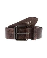 Tom Tailor Belt Dark Brown