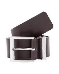 Hugo Boss Bud Belt Business Dark Brown