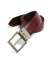 Canali Leather Belt Brown 36