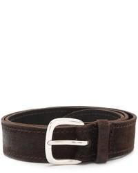 Orciani Classic Stitch Detail Belt