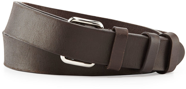 Prada Leather Runway Belt Dark Brown | Where to buy \u0026amp; how to wear
