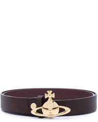 Vivienne Westwood Red Label Logo Embossed Belt