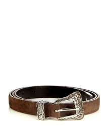 Saint Laurent Western Leather Belt