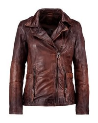 Advance lateov leather jacket vintage brown medium 5032685