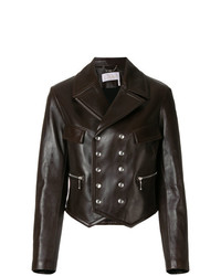 Chloé Double Breasted Leather Jacket