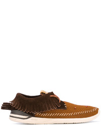 VISVIM Fringed Boat Shoes