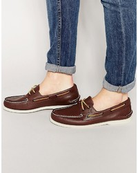 Sperry Topsider Leather Boat Shoes