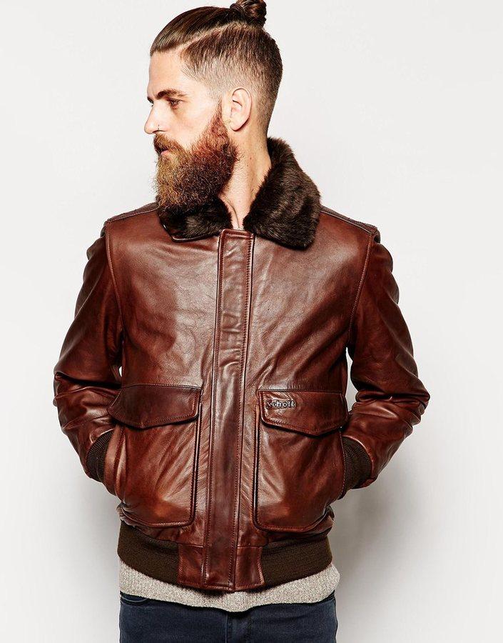 Schott Flight Jacket In Leather | Where to buy & how to wear