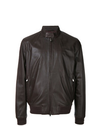 Corneliani Zipped Biker Jacket