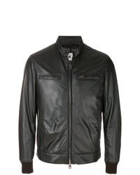 Kired Zipped Bomber Jacket