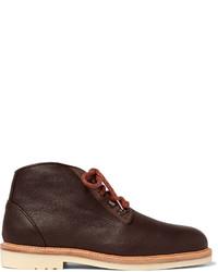 Aspen walk shearling lined full grain leather boots medium 826169