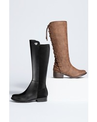 Stuart Weitzman Girls 5050 Stretch Back Riding Boot