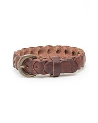 Will Leather Goods Shelby Bracelet Brown