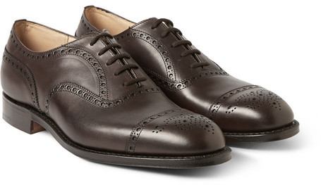 ... Brown Leather Brogues Church's Diplomat Leather Oxford Brogues ...
