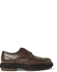 Leather wingtip brogues medium 782460