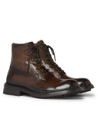 Officine Creative Exeter Burnished Leather Boots