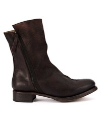 Cherevichkiotvichki Leather Panel Boots