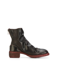 Guidi Stacked Heel Boots