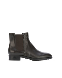Tod's Laser Cut Chelsea Boots