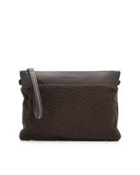 Fabiana Filippi Textured Clutch Bag