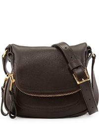 Tom Ford Jennifer Mini Crossbody Bag Brown