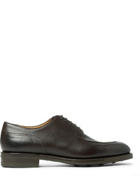 Edward Green Dover Cross Grain Leather Derby Shoes