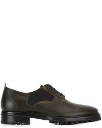 Lanvin Elasticated Panel Derby Shoes