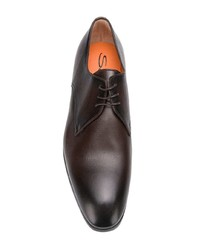 Santoni Lace Up Derby Shoes