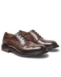 Officine Creative Leeds Polished Leather Derby Shoes