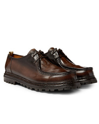 Officine Creative Volcov Polished Leather Derby Shoes