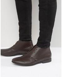 ASOS DESIGN Asos Chukka Boots In Brown