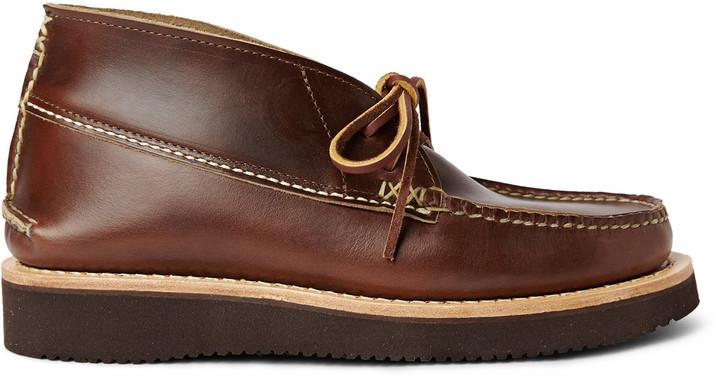 Yuketen Maine Guide Leather Chukka Boots 378 Mr Porter
