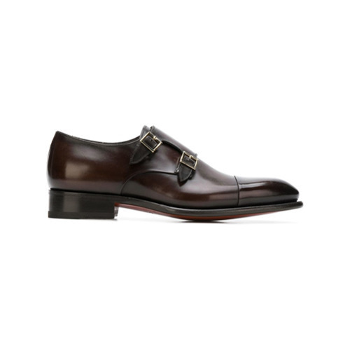 Santoni D Monk Shoes