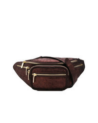 Dark Brown Leather Fanny Pack