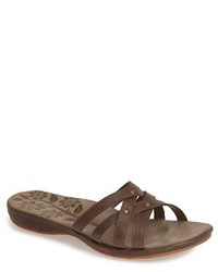 Keen Palms Leather Slide Sandal