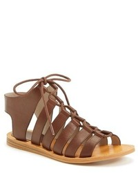 Hinge Roman Strappy Lace Up Sandal