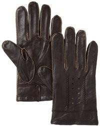 Ben Sherman Leather Whipstitch Gloves