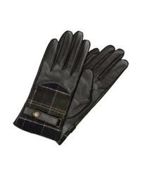 Barbour Dee Gloves Dk Brown