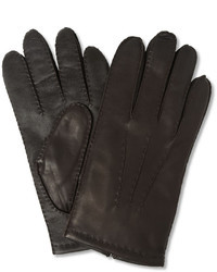 Dents Touch Screen Cashmere Lined Leather Gloves