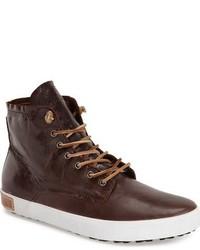 Blackstone Im 10 Leather High Top Sneaker