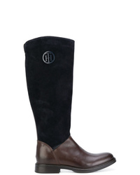 Tommy Hilfiger Panelled Knee Boots