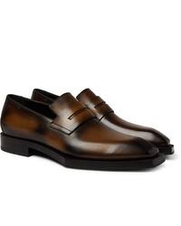 Berluti Andy Edge Venezia Leather Loafers