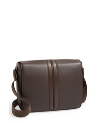 Tod's Pebbled Leather Messenger Bag