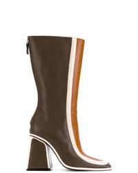 Marni Colour Block Boots