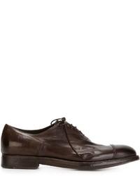 Alberto Fasciani Quincy Oxford Shoes