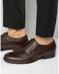 Base London Bailey Leather Oxford Shoes