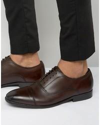 Base London Richards Leather Oxford Shoes