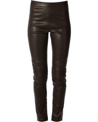Neil Barrett Ribbed Leggings