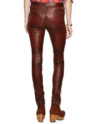 Polo Ralph Lauren Stretch Leather Pocket Pant